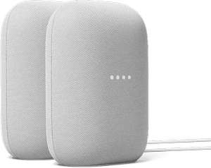Google Nest Audio 2 pack - Wit