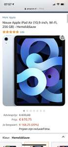 Ipad air 256 gb blauw
