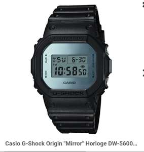 "Casio G-Shock Origin ""Mirror"" Horloge DW-5600BBMA-1ER 43mm"