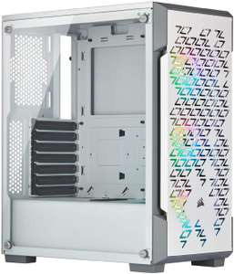 iCUE 220T RGB Airflow Tempered Glass Mid-Tower Smart Case - White @Amazon.nl
