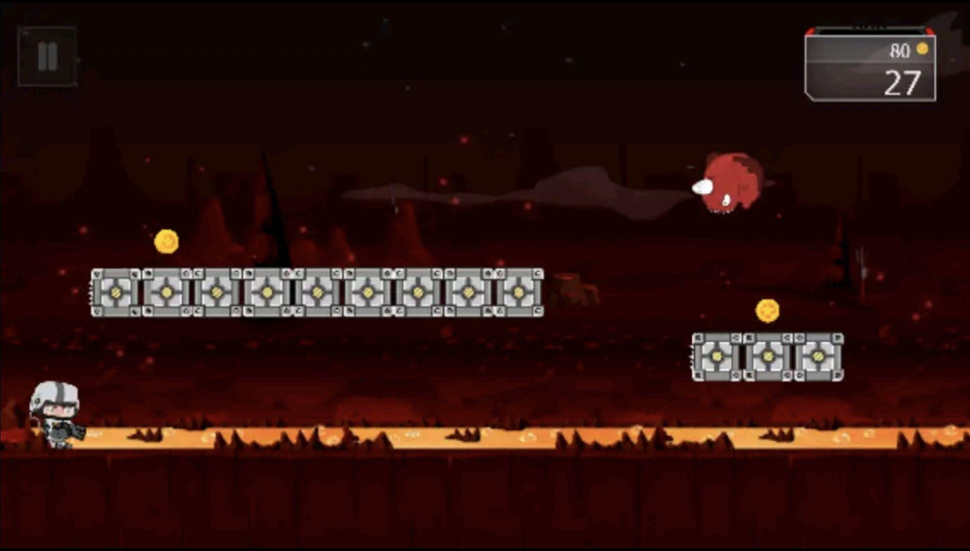Gratis Android game: Mars jump