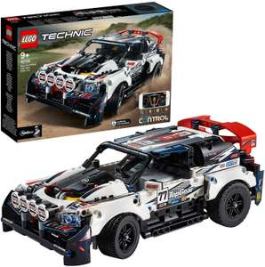 Lego technic Top Gear rallyauto met app-bediening (42109
