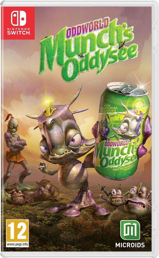 Oddworld: Munch's Oddysee - Switch Eshop