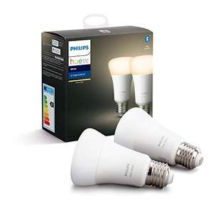 Philips Hue E27 White + Bluetooth - Duopack