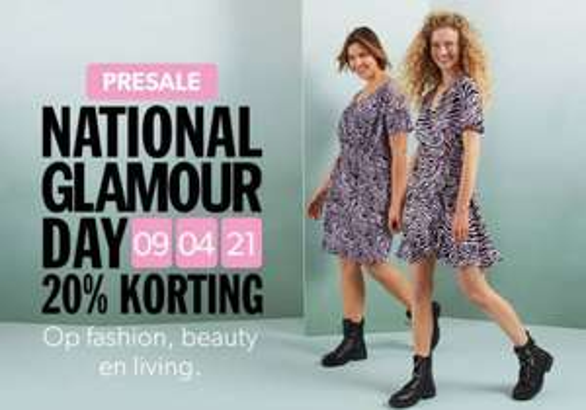 Glamour Day presale! 20% korting op de nieuwste fashion
