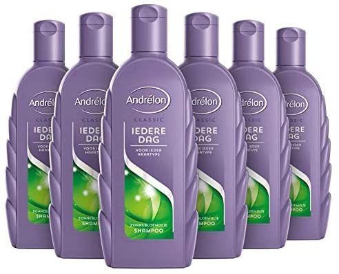 Andrélon Classic Iedere Dag Shampoo voor ieder haartype - 6 x 300ML
