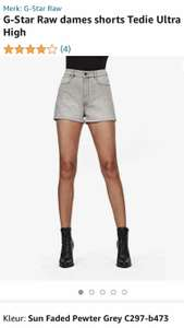G-Star Raw dames shorts Tedie Ultra High