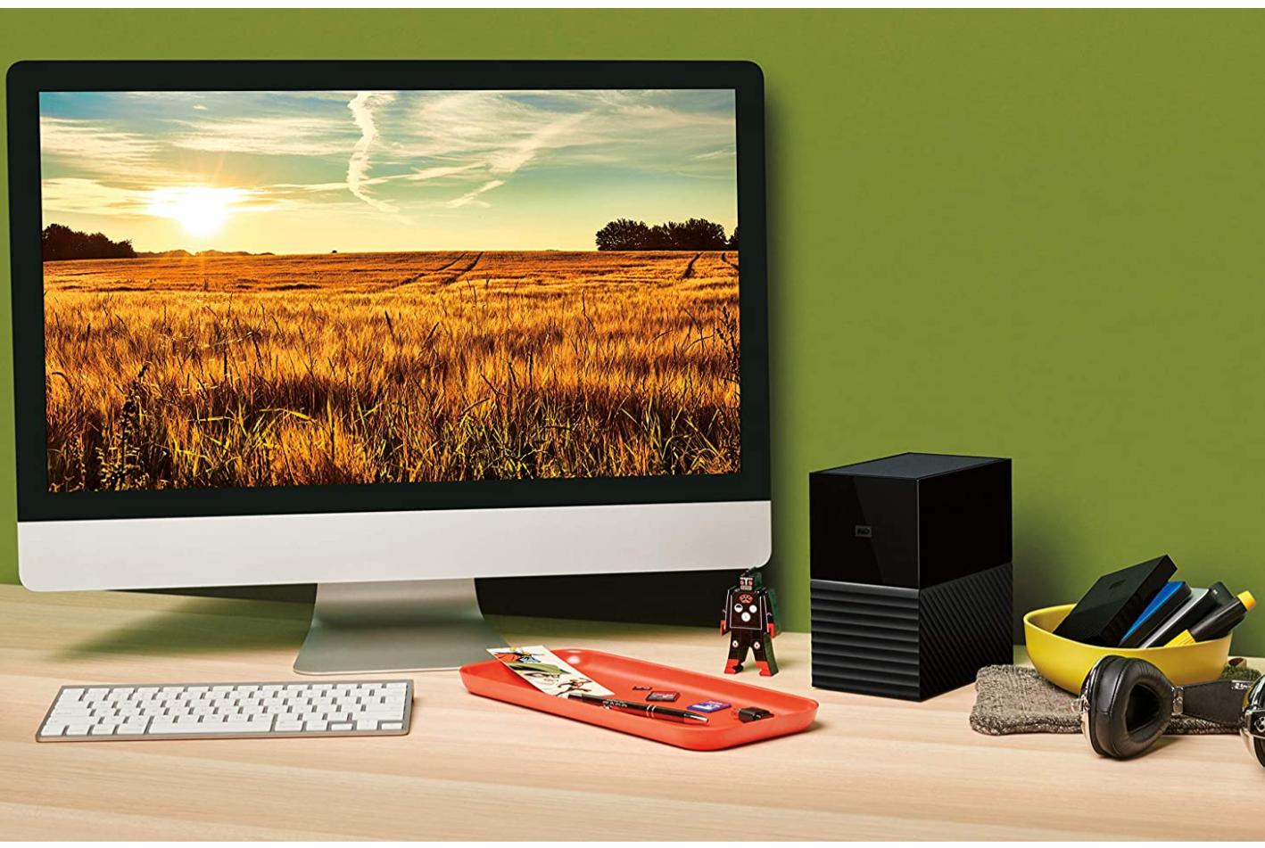 WD My Book Duo 24 TB Desktop RAID USB 3.1 externe harde schijf en automatische back-upsoftware