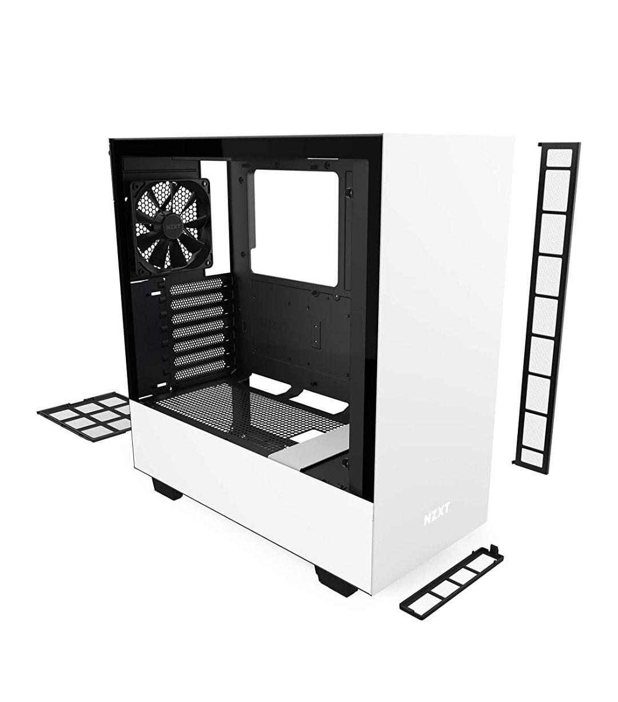NZXT510 Wit/zwart