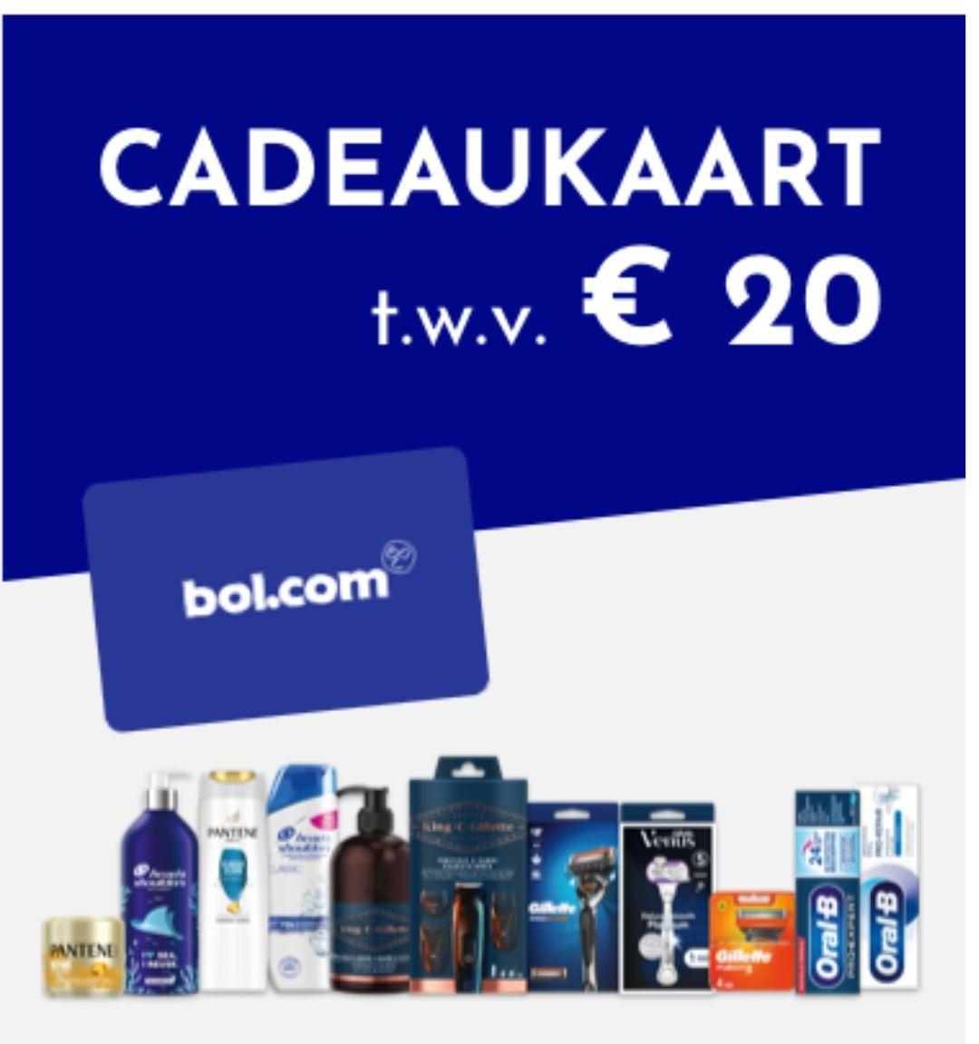BE Delhaize bon van 20 euro voor Bol.com bij aankoop 3 producten