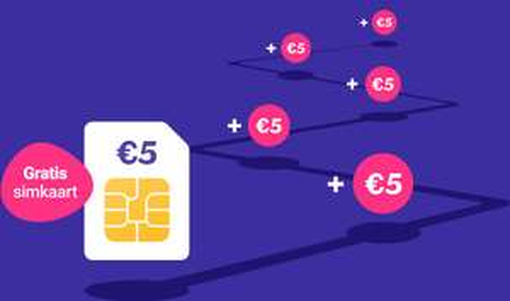 Gratis Lebara Prepaid simkaart + 5 euro beltegoed