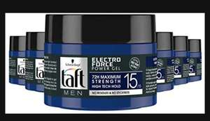 Schwarzkopf Taft Electro Force Level 15 Power Gel Pot 250ml , 6 stuks @amazon/wehkamp