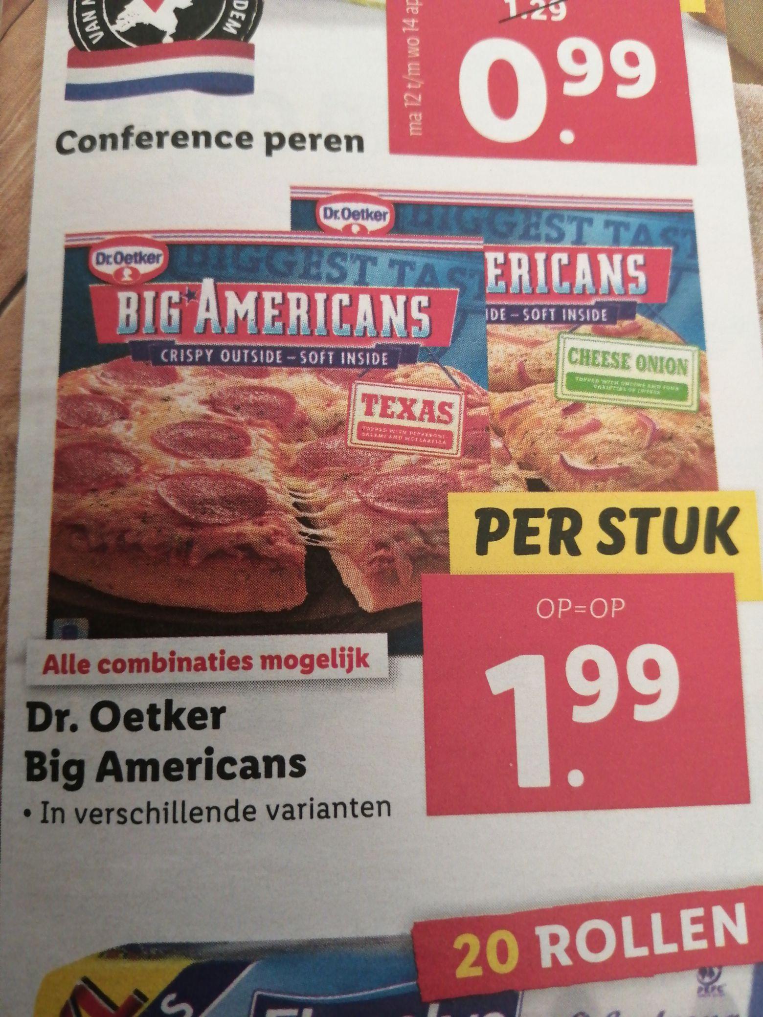 Big American pizza