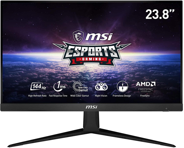 """MSI Optix G241 24"""" FullHD IPS 1ms 144Hz Monitor @Amazon.nl"""