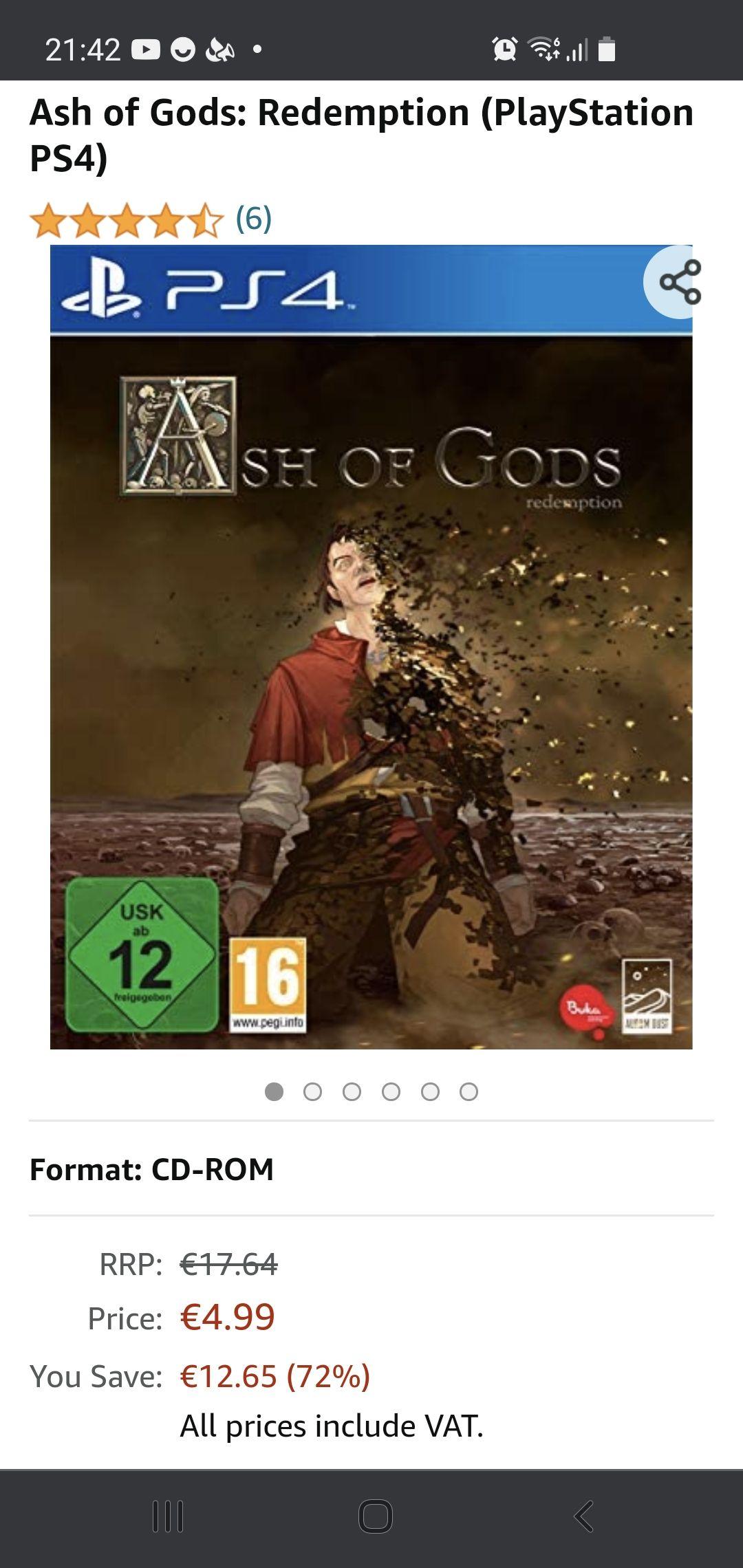 Ash of gods: redemptions ps4-xbox- amazon.nl inclusief gratis verzending