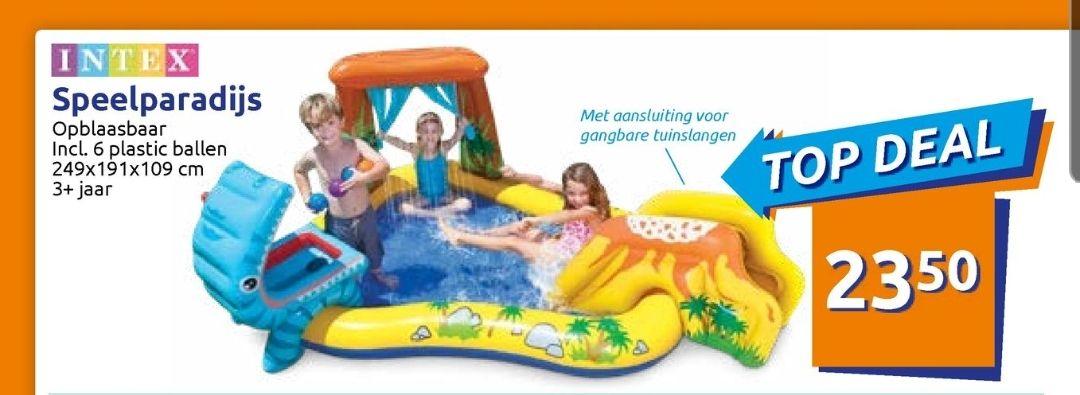 @Action. Intex speelparadijs €23.50