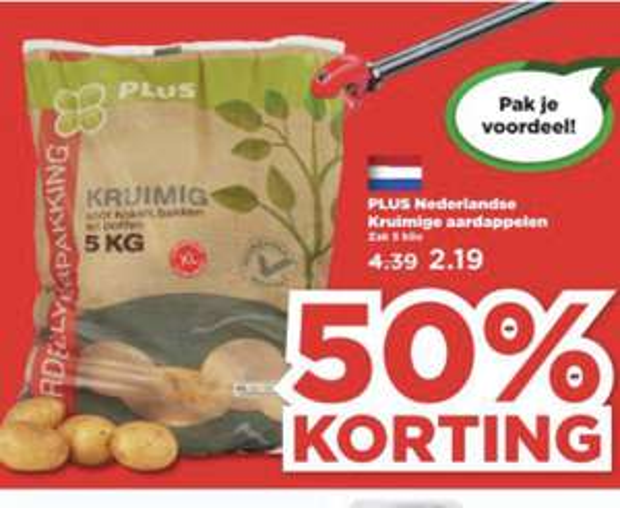 5kg Nederlandse kruimige aardappels