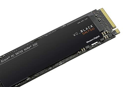 WD Black NVMe SSD SN750 1TB (zonder heatsink)