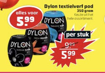 Dylon textielverf 350 gram