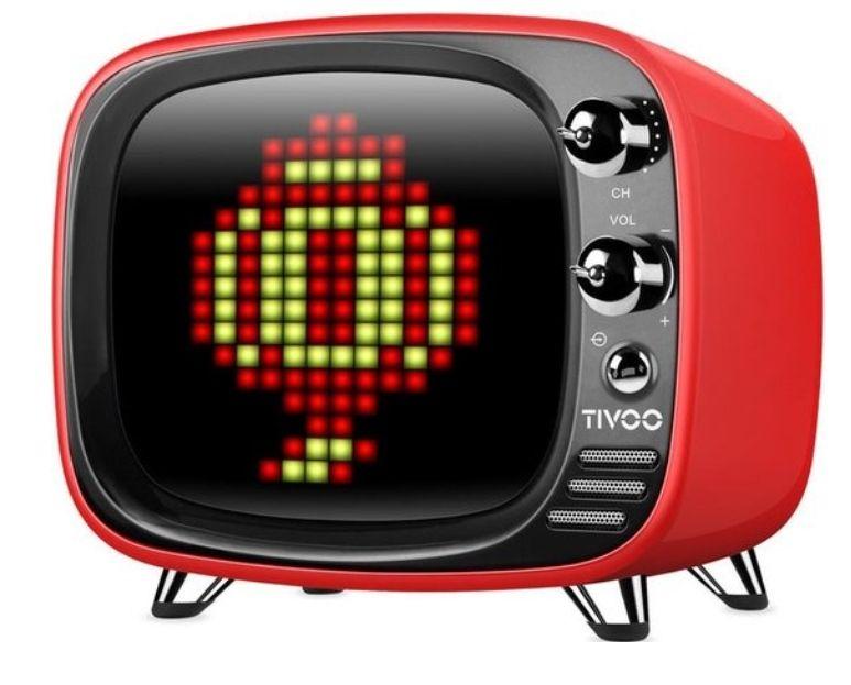 Pixel Art Bluetooth speaker Rood van Divoom Tivoo