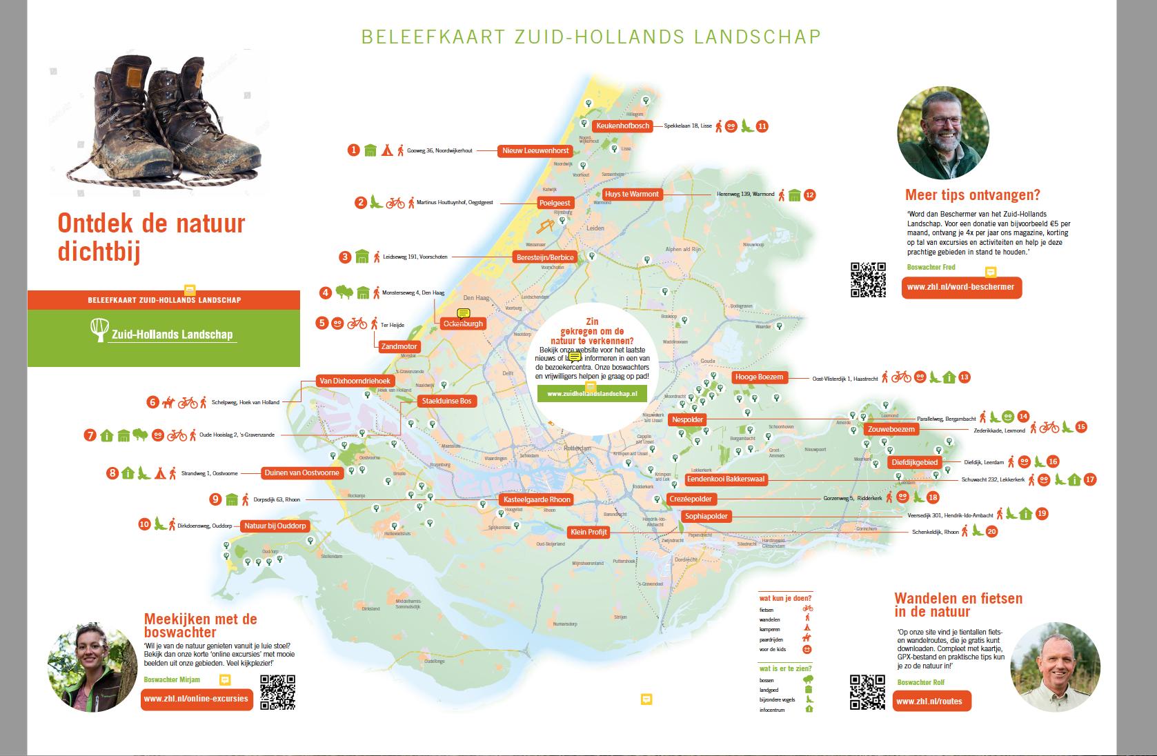 Ontdek de natuur dichtbij in ZH en Utrecht met de Gratis Beleefkaart [update 12/4 10:40]