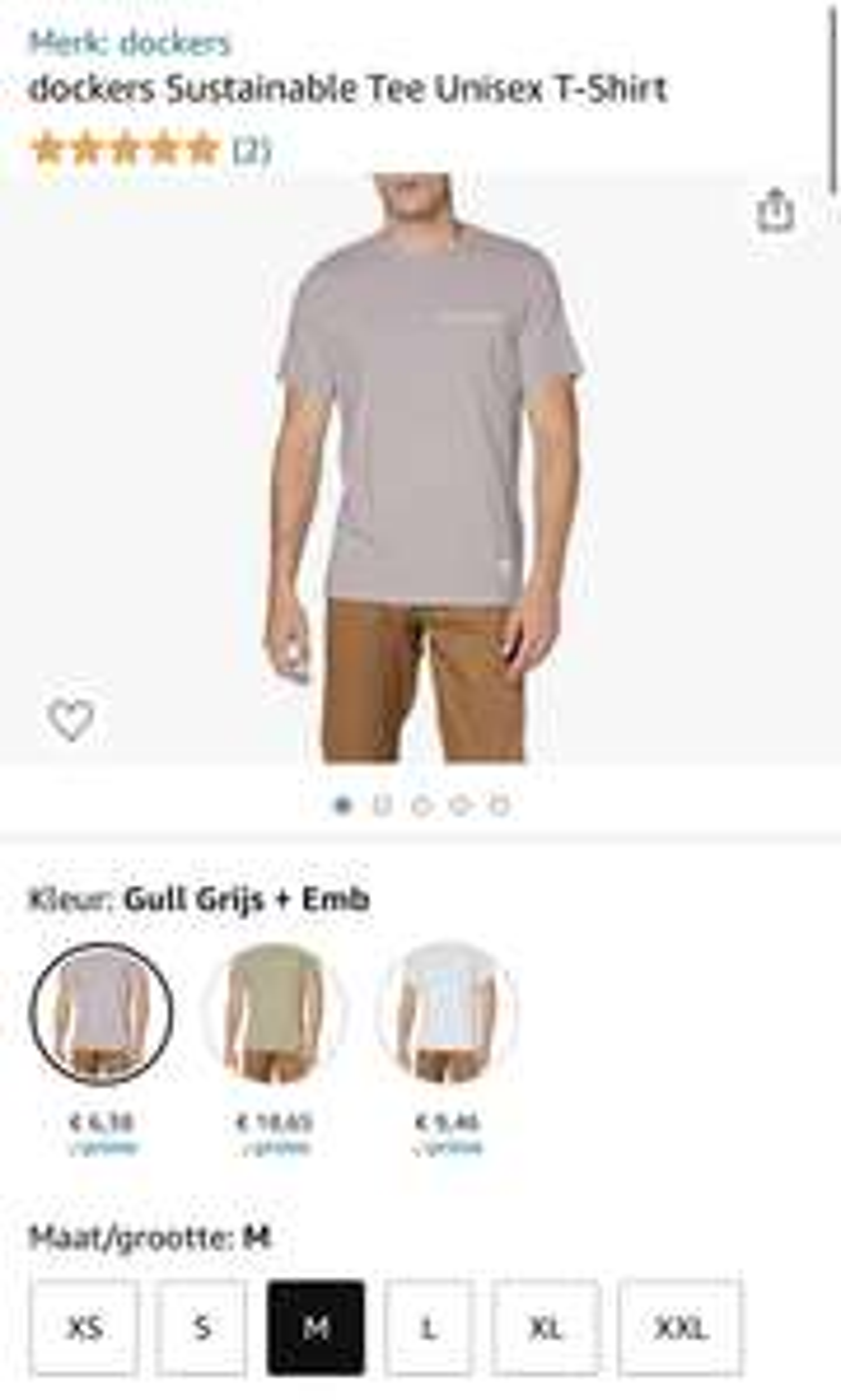 dockers Sustainable T-Shirt