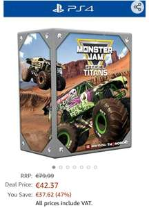 Monster Jam: Steel Titans - Collector Edition - Playstation 4 (PS4)