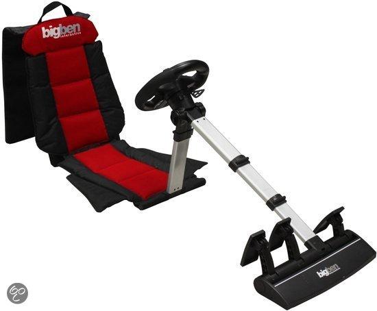 Bigben gaming racestoel + racestuur + pedalen voor €64,99 @ Bol.com