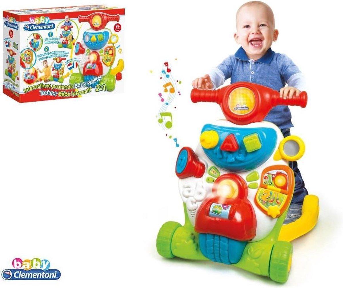 Clementoni Baby Interactieve Pratende Looptrainer