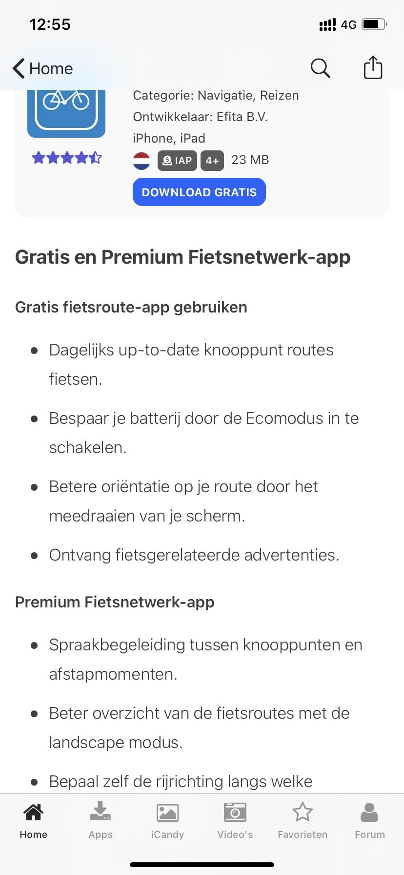 Gratis premium abonnement Fietsnetwerk