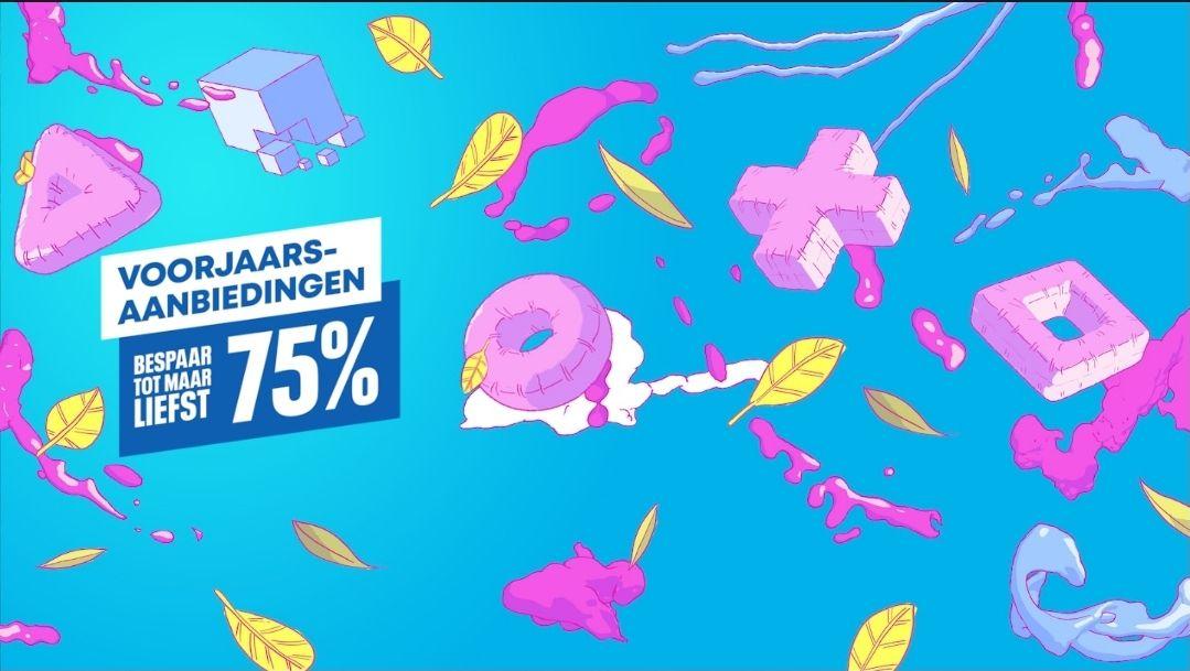 Tot 75% voorjaarskorting op Playstation games