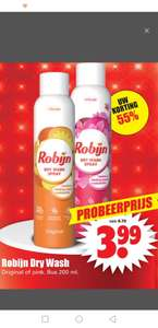 Robijn dry was spray (Dirk supermarkt)