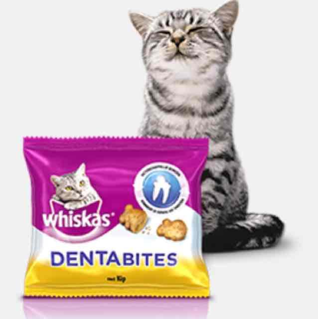 Gratis Whiskas Dentabites