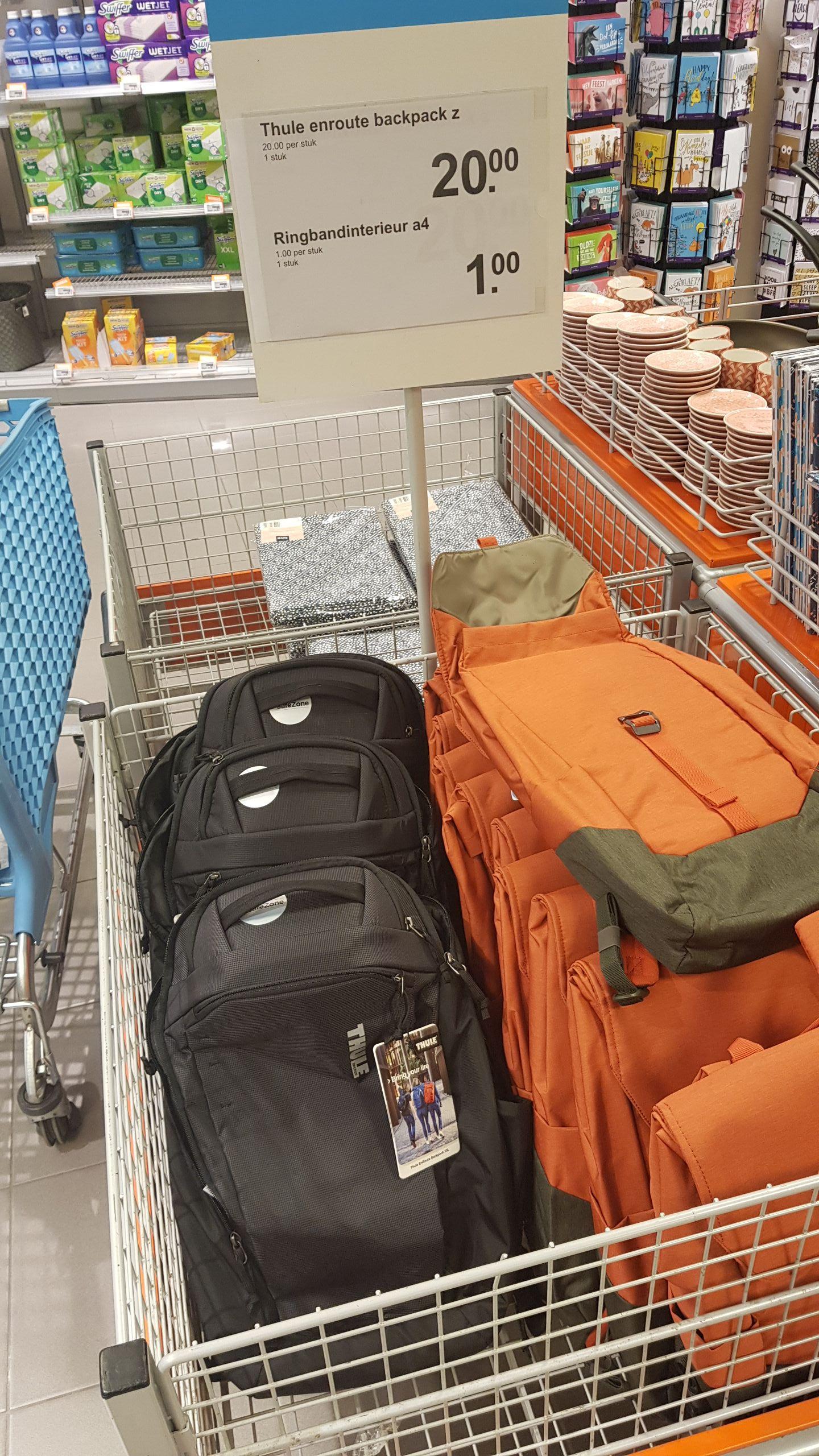 "[Lokaal?] Thule enroute 23L 15"" laptop rugzak bij AH XL Roermond"