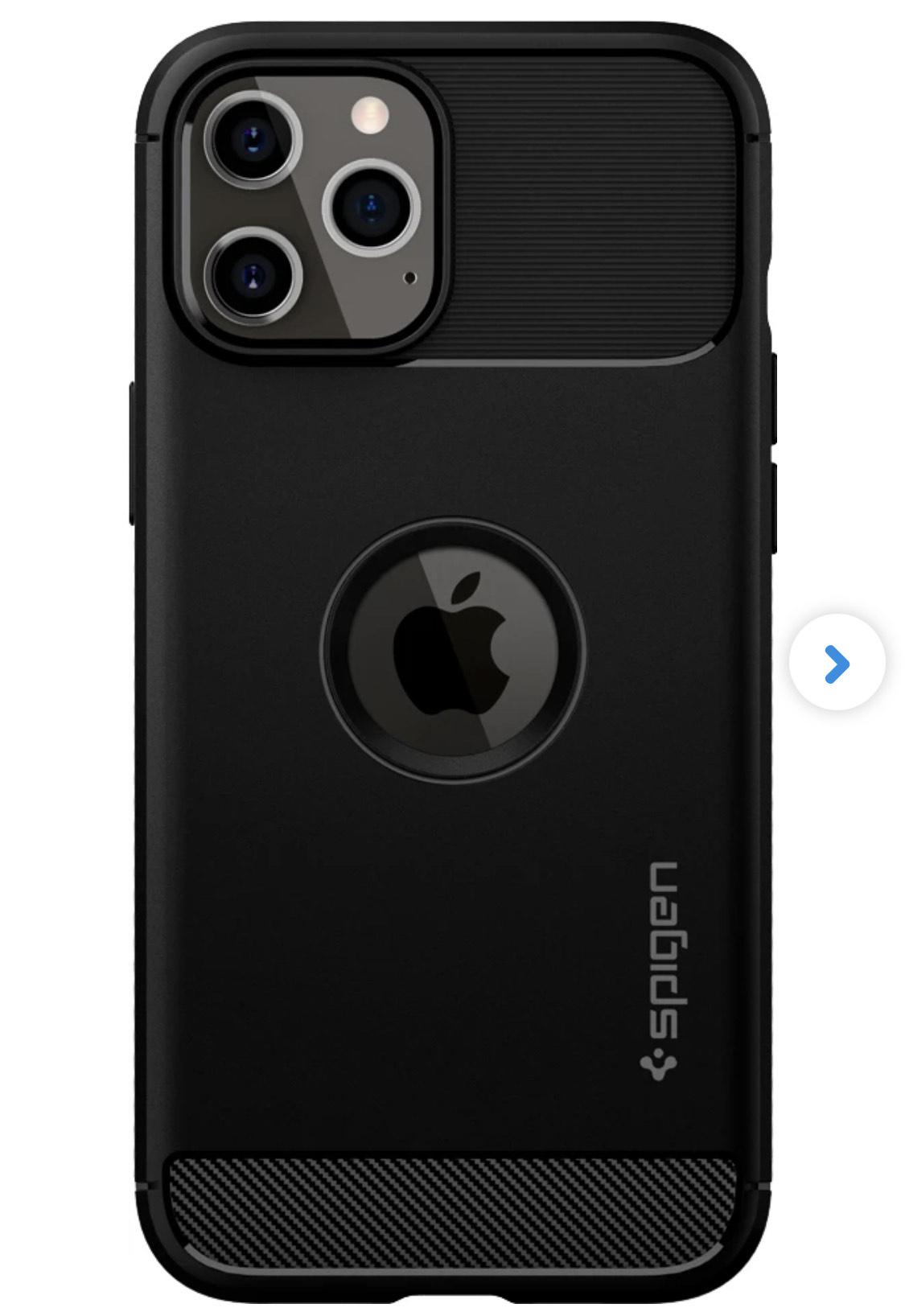 Apple iPhone 12 Pro Max - Spigen Back Cover @ Belsimpel.nl