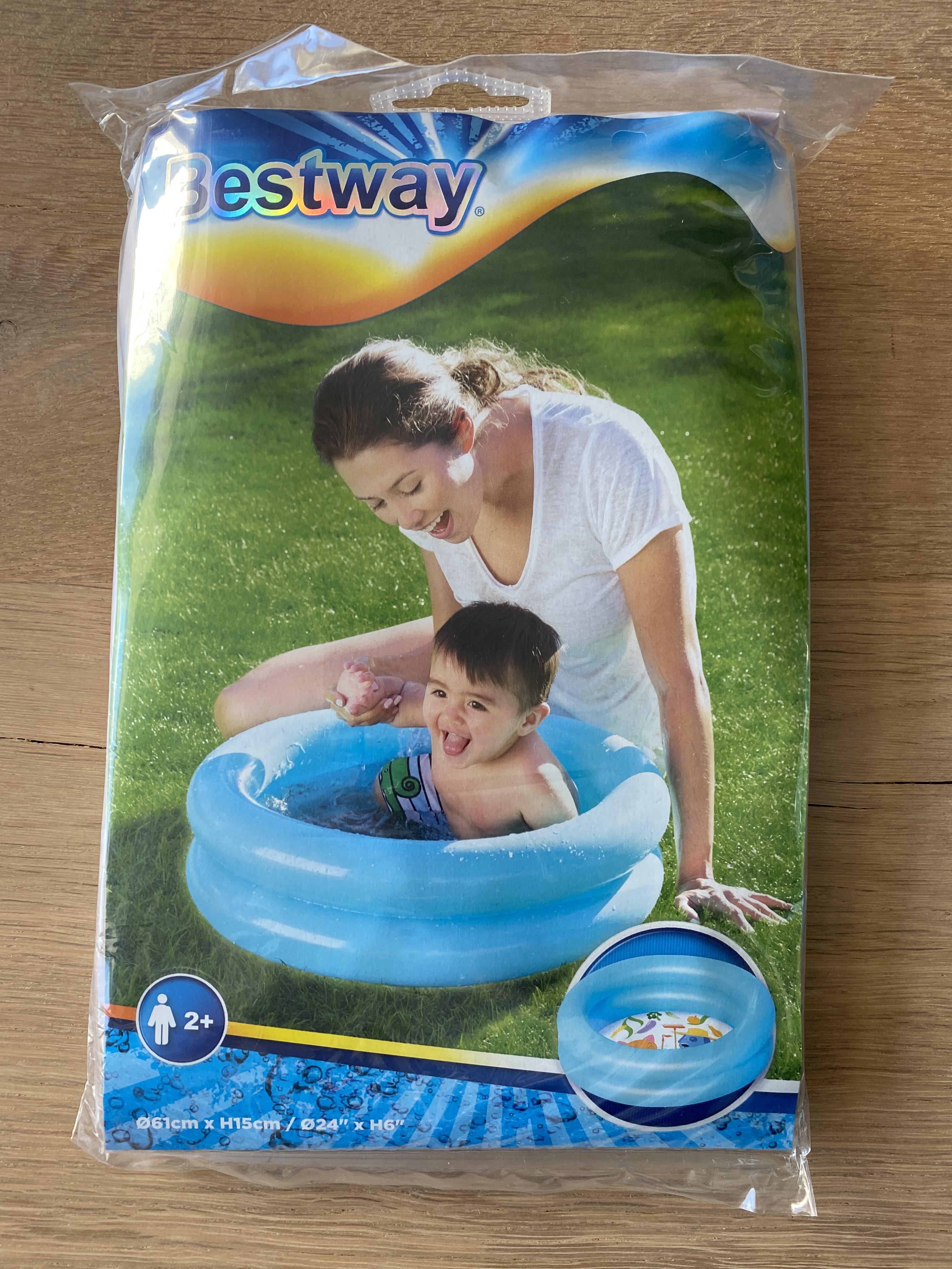 Bestway baby zwembadje (roze of blauw, 61cm x 51cm)