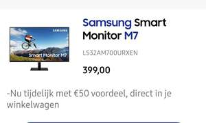 Samsung m7 smart monitor 32""