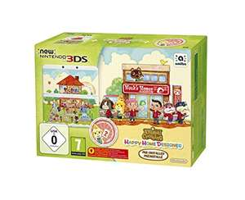 New Nintendo 3DS Limited Edition + Animal Crossing: Happy Home Designer voor €141,78 @ Amazon.de