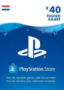 PlayStation Network NL €40 tegoedkaart (digitale code) voor €33,49 @ Eneba