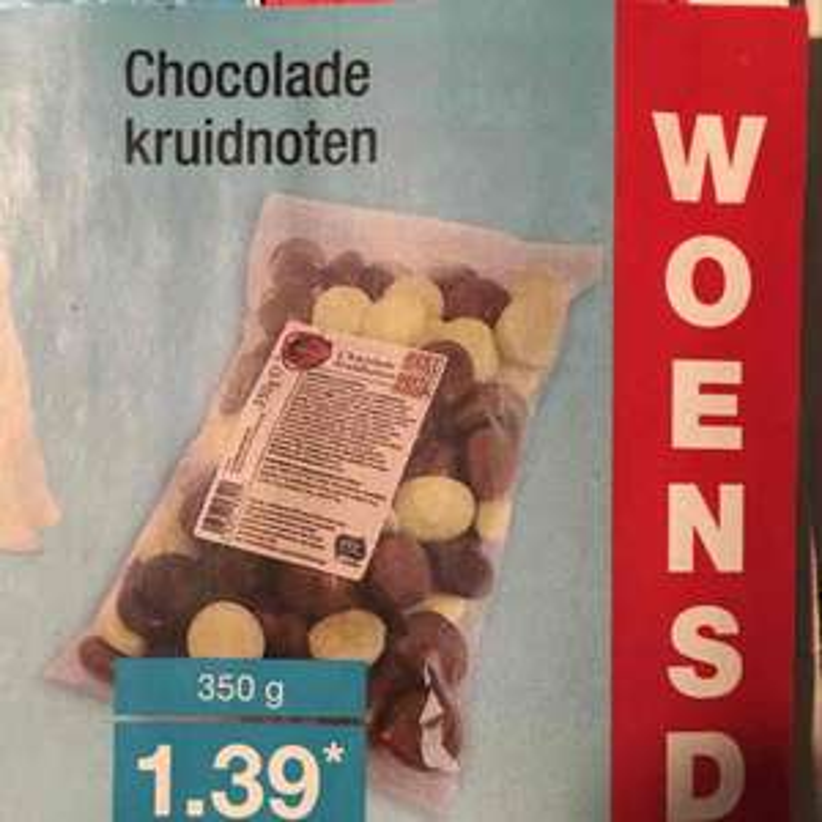 Chocolade kruidnoten voor €1,39 @ Aldi