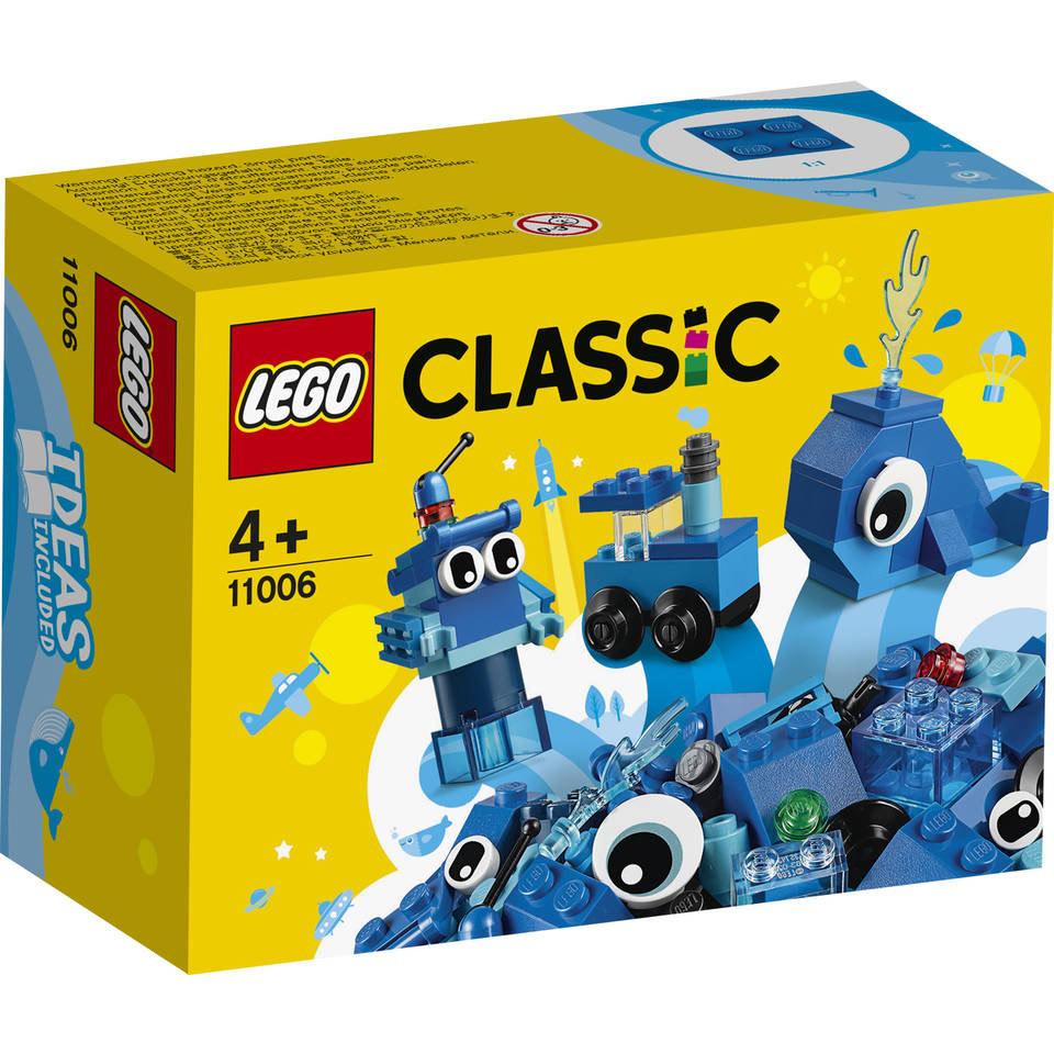 LEGO Classic creatieve blauwe stenen 11006 @ Amazon NL
