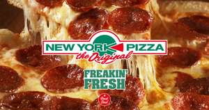 25 cm pizza €3,99 afhalen @ New York Pizza