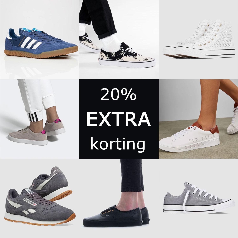 Sneaker sale tot -70% + 20% EXTRA korting [va €65]