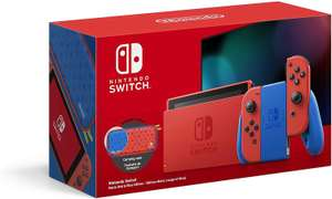 Nintendo Switch Console - Mario Red & Blue Edition @Amazon