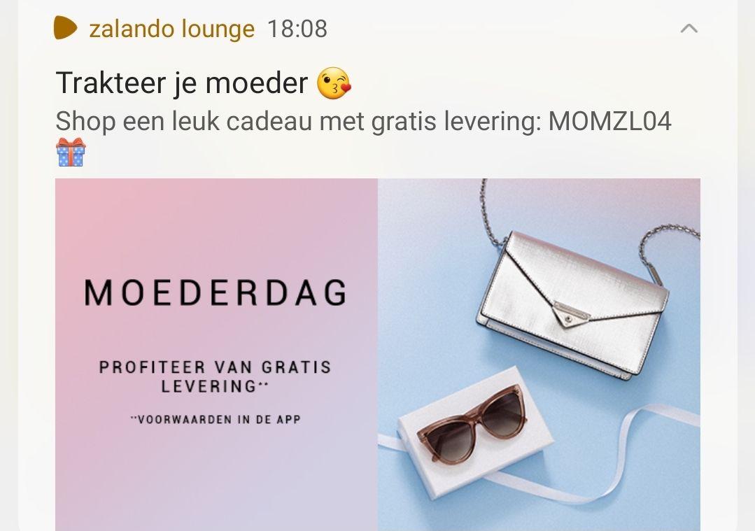 Gratis verzending Zalando Lounge
