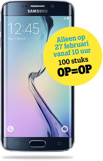 Openingsactie Tele2 Nijmegen: Samsung Galaxy S6 Edge