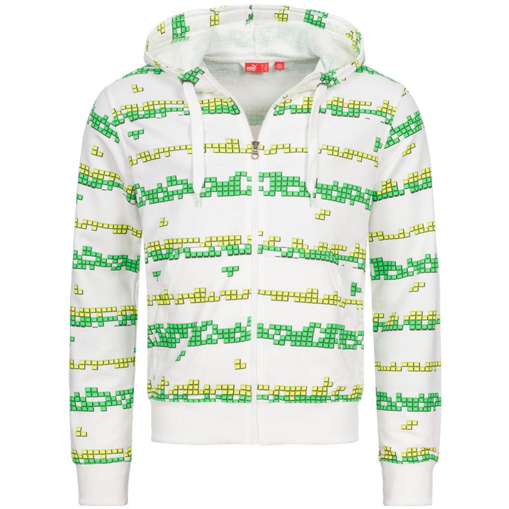 PUMA Pixel Full Zip heren hoodie