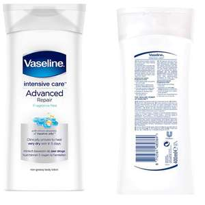 400 ml Vaseline Body Lotion Advanced Repair