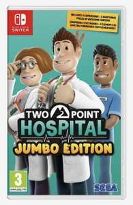 (Nintendo switch) Two Point Hospital JUMBO edition