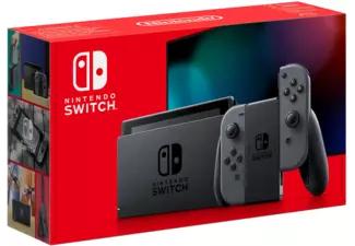 Nintendo Switch in geopende verpakking